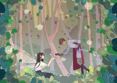 """@spoorks: """"I really like the fairy au thing"""""""