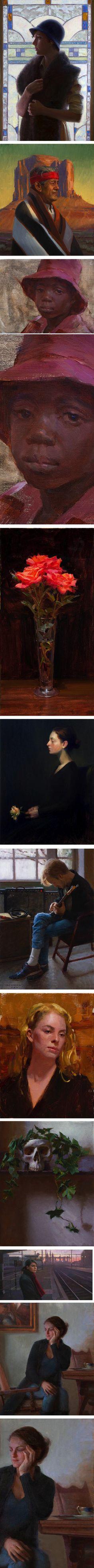 Tony Pro, portrait, figurative and still life painting