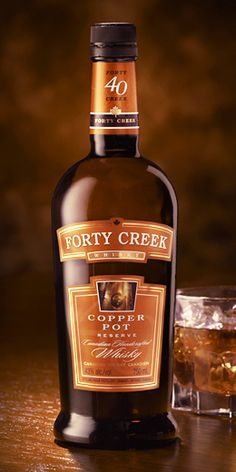 Mark Gillespie of Whiskycast's Tasting Notes for Forty Creek Copper Pot Reserve Scotch Whiskey, Bourbon Whiskey, Canadian Club Whiskey, Black Walnut Tree, Whisky Tasting, Spiritus, Copper Pots, Mixed Drinks, Distillery