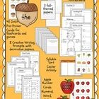 $ Fall Literacy and Math Activities for Kindergarten and First Grade / Grade One is a fun-filled packet for early learners.  Contained within the p...