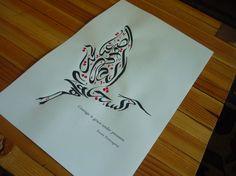 Lovely Arabic Calligrapher    www.arabiccalligrapher.com
