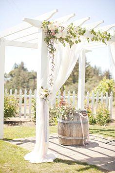 Glamorous wedding centerpiece idea; via Charmed Events Group