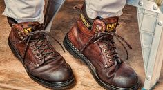 Our team of experts went exploring various types of work boots out there. They compiled a lineup of some of the best work boots they came across. These boots were established to be great in different situations. Good Work Boots, Safety Work Boots, Steel Toe Work Boots, Cool Boots, Columbia, Dockers, Baskets, Sore Feet, Under Armour