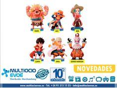 """ONE PIECE - VARIOS MODELOS Nuevos productos de One Piece de la serie """"World Collectable Figure"""". Llega con nuevos personajes y vestuario exclusivo. Las poses reproducen la personalidad de cada personaje. EAN: 3296580302406 Código: 13880 -  Material: PVC. Presentación: caja. Medidas: 7cm."""