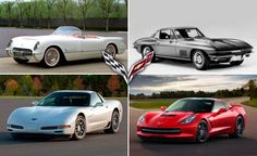 Chevrolet Corvette Timeline: Milestones and More from C1 through C7 Chevrolet Corvette, Chevy, Corvette History, Car And Driver, Muscle Cars, Vintage Cars, Dream Cars, Automobile, Trucks