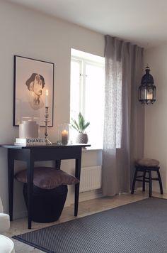 Gardiner i vårt vardagsrum | Simplicity