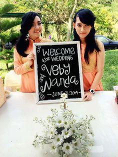 Welcome at #alendawedding2014 :)