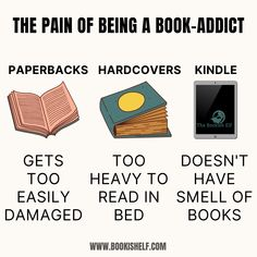Must Read Biography Books and Memoirs - This might be why I like Digital Books – being born without a sense of smell, the odor of books holds no appeal to me I Love Books, Good Books, My Books, Books To Read, Tris E Quatro, Book Nerd Problems, Biography Books, Book Memes, Funny Book Quotes