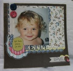 Julia's Cards: KELLY scrapbook page - Stampin' Up!
