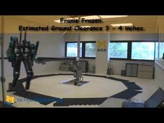 Biped Robot MABEL Runs Free! world's fastest bipedal robot with knees as developed by University of Michigan researchers. (video)