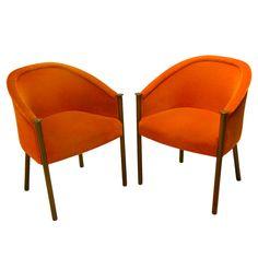 1stdibs - Pair of original rare sculptural Ward Bennett chairs explore items from 1,700  global dealers at 1stdibs.com