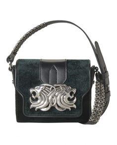 Velvet Minibox bag - Accessories - Woman - The Kooples