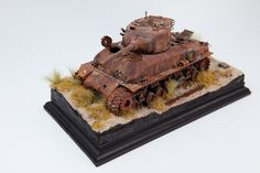 Matt(Madairbrush) M51 Super Sherman Relic