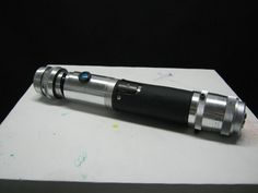 Lightsaber from trash! (and less than 20 dollars worth of hardware)