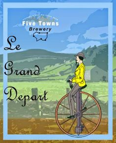 Five Town's Brewery - Le Grand Depart - at North Leeds Charity Beer Festival 2014