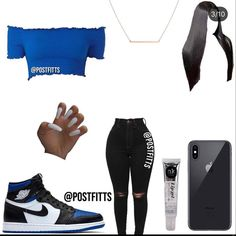 Swag Outfits For Girls, Boujee Outfits, Cute Lazy Outfits, Cute Swag Outfits, Teenage Girl Outfits, Cute Outfits For School, Teen Fashion Outfits, Dope Outfits, Jordan Outfits