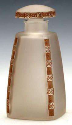 Rene Lalique 'Fleurettes' Glass Perfume Bottle | eBay by cristina