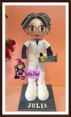 Fofucha Enfermera muñeca artesanal