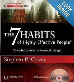 The 7 Habits of Highly Effective People: Powerful Lessons in Personal Change: Stephen R. Covey: 9781455892822: Amazon.com: Books