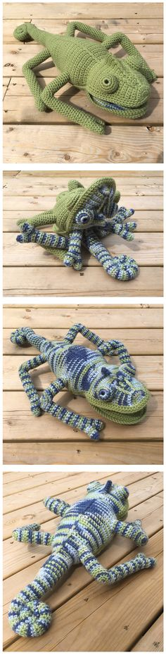 Crochet This Incredible Color-Changing Chameleon – Guaranteed To Impress Your Friends! - crochet , Crochet This Incredible Color-Changing Chameleon – Guaranteed To Impress Your Friends! Crochet This Incredible Color-Changing Chameleon Crochet Cap, Crochet Amigurumi, Love Crochet, Crochet Gifts, Amigurumi Patterns, Crochet For Kids, Crochet Dolls, Knitting Patterns, Crochet Patterns