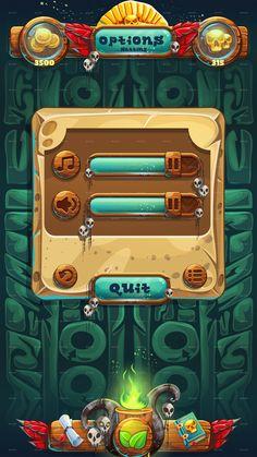 Jungle Shamans Mobile GUI