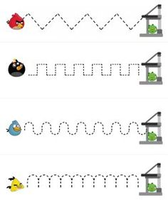 Angry Birds printables for pre-K and Kindergarten... Judah is going to FLIP OUT! Lol =)
