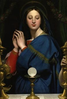 mary-and-eucharist--one of my very favorite Marian images.