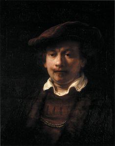 Rembrandt Portrait, Rembrandt Art, Rembrandt Paintings, Oil Portrait, Basic Painting, Baroque Art, Farm Art, Figure Sketching, Painter Artist