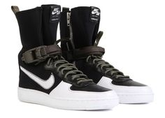 Nike-x-Acronym-AF1-Downtown-Hi-SP-649941-001-Black-White-Size-UK11 EU45 #Nike #BOOTSTRAINNERS