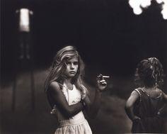 suicideblonde:    Candy Cigarette by Sally Mann