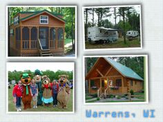 Yogi Bear's Jellystone Park - Warrens: 1500 Jellystone Park Drive Warrens, WI 54666 Your Hosts: Jason Adler & Natalie Macik Reservations: (888) 386-9644 Phone: (608) 378-2000  665 Total Sites 20 Seasonal Sites Dump station Free showers LP gas Groceries Laundry Cable/tv/hookup Restaurant/bar Snack bar WIFI/Hot Spots Worship service Wood for sale ATM Credit cards accepted.