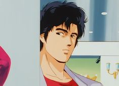 Old Anime, Anime Manga, Nicki Larson, City hunter, Hunter Anime, Angel Heart, Aesthetic Anime, Manga Girl, Eyes