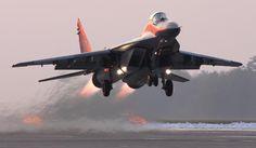 Polish Air Force MiG-29 Fulcrum. Photo by Maciek Wolanski