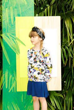 Little @elevenparis Spring 2015 campaign #littleelevenparis #elevenparis #cartoons #SS15 #spring #summer #springsummer2015 #childrens #kids #childrenswear #kidswear #kidsfashion #girls #boys