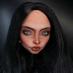 #monsterhigh #ooak #doll #dollrepaint #mu #monsterhighdolls #dollphotography
