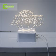 Find More Desk Lamps Information about CNHidee design lamp NBA light, Lakers desk light, Los Angeles 3D lamp, Desk Lamp Creative NBA 3D Desk Lamp for home decor.,High Quality lamp flame,China lamp detector Suppliers, Cheap lamp socket from BORSCHE (HK) Electronic Co.,Ltd.  on Aliexpress.com