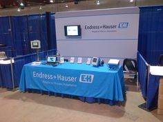 Endress+Hauser Canada's booth at the 2015 Manitoba Water and Wastewater Association Annual Conference and Tradeshow Endress Hauser, Process Engineering, Teamwork, Conference, Canada, Water, Gripe Water