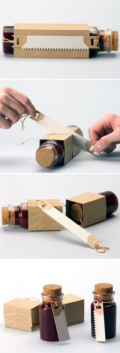 [How many jars are there? The Illusionist packaging design concept by Anthony Guex (Canada)] Packaging Carton, Jam Packaging, Clever Packaging, Innovative Packaging, Food Packaging Design, Pretty Packaging, Packaging Design Inspiration, Brand Packaging, Spices Packaging