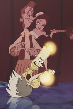 Lumiere and Babette