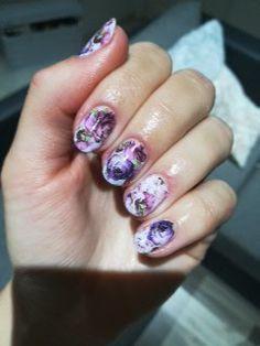 Flowers nails, Flowers, nails, short nails, diy nails, summer nails Spring nails stickers nails nails stickers wather nail stickers