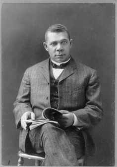 Booker T. Washington often recruited qualified black students from MIT, like Robert R. Taylor '92, for leadership roles at Tuskegee.