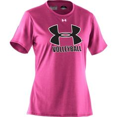 Under Armour Women's Volleyball Short Sleeve Tech T-Shirt....The Volleyball Revolution has begun!