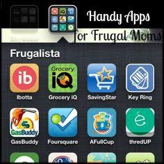 Handy Apps for Frugal Moms