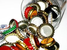 Crafting a Green World | Crafty Reuse: Ten Projects for Old Bottle Caps | Page: 1 | Crafting a Green World