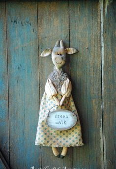 Primitive Cow Farmhouse Decor-Country Home by RusticCraftsbySue