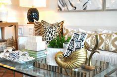 Accents in #gold at #PalmBeach #Mecox #interiordesign #MecoxGardens #furniture #shopping #home #decor #design #room #designidea #vintage #antiques #garden