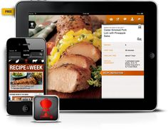Get grilling recipes sent to your smartphone every week, plus grilling guides, tips and techniques.