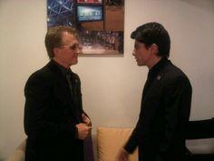con Victor de la Academia