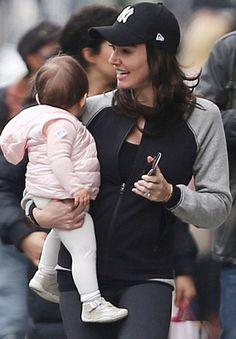 37d8bb8638f45 Tamara Ecclestone's daughter in our May pre-walkers. White Leggings,  Celebrity Kids,