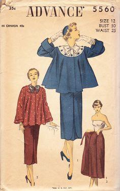 vintage wrap maternity skirts. Dress Making Patterns, Vintage Dress Patterns, Clothing Patterns, Vintage Dresses, Vintage Clothing, Maternity Coat, Maternity Skirts, Maternity Clothing, Vintage Inspired Fashion